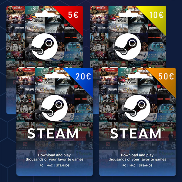 Steam Wallet Srbija gift card