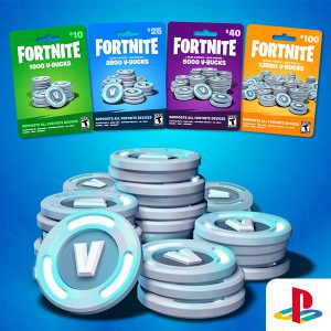 Fortnite V-Bucks (PS US) – 2000 v-bucks