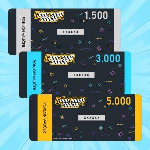 Gaming igre poklon vaucer kartice
