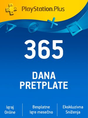 PlayStation Plus (US) – 365 dana