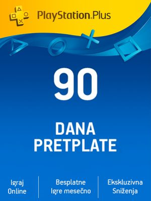 PlayStation Plus (US) – 90 dana