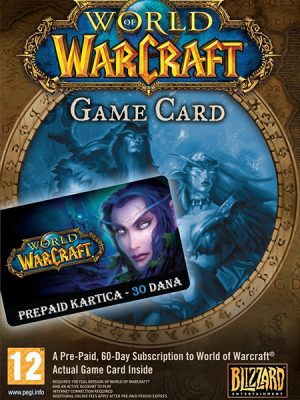 World of Warcraft Game Time – 30 dana