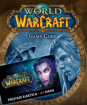 World of Warcraft Game time (prepaid kartice) – 60 dana