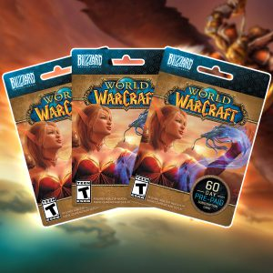 World of Warcraft Game time (prepaid kartice)