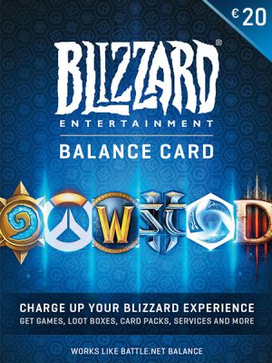 Blizzard (Battle.net) Gift Kartice