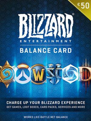 Blizzard (Battle.net) Gift Kartice – 50€