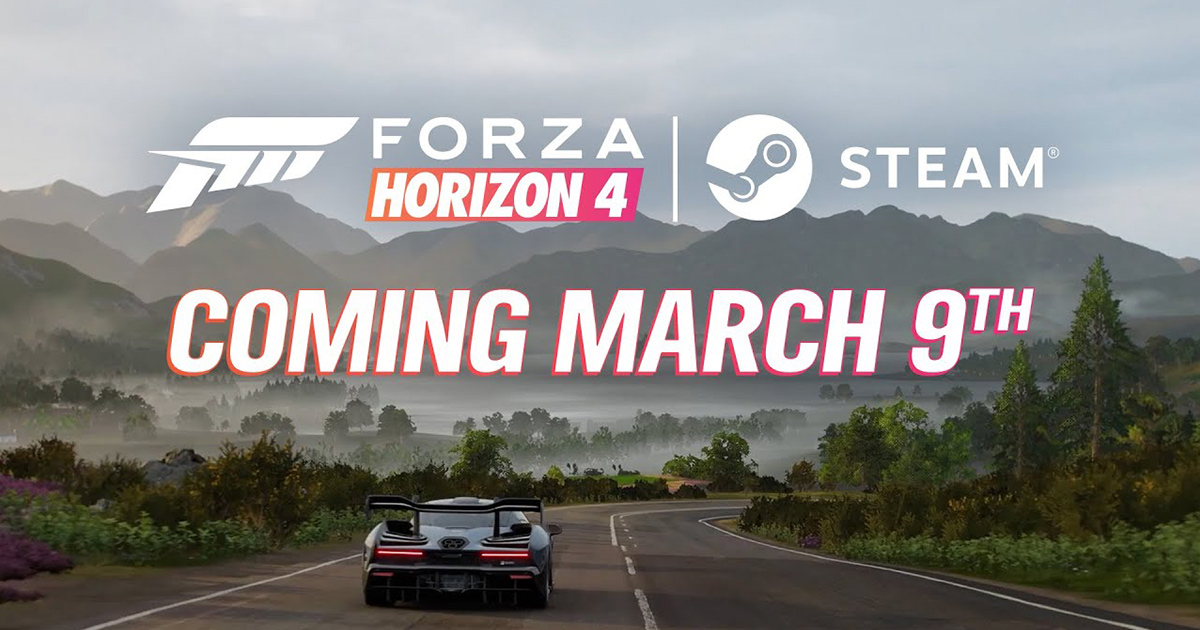 Read more about the article Forza Horizon 4 stiže na Steam u martu!