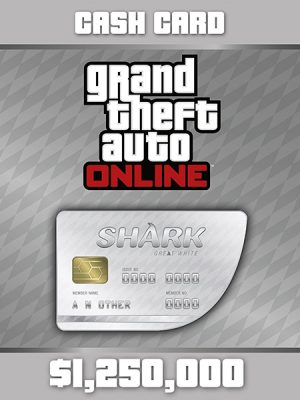GTA 5 Dopune (Shark Cash) – White 1.25M