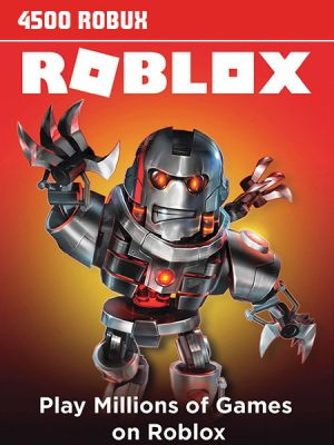 Roblox Gift kartice – 4500 Robux
