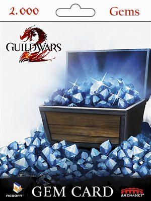 Guild Wars 2 – 2.000 Gems